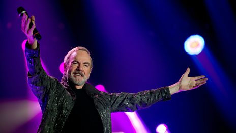 What's Neil Diamond's secret to 50 years in show business?