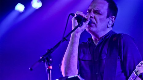 The Wedding Present in session for Marc Riley