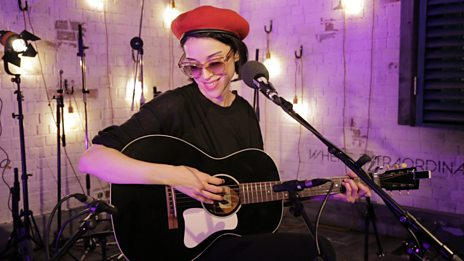 Watch St. Vincent perform New York in the 6 Music Live Room