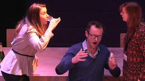 An extract from Cosi fan Tutte rehearsals | Northern Ireland Opera