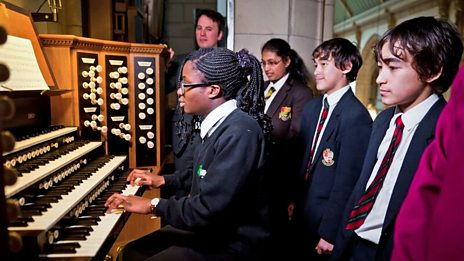 Learning to play the organ