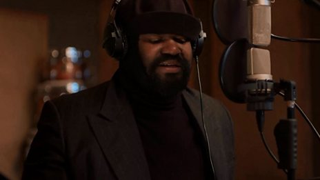 Gregory Porter records a 'duet' with Ella Fitzgerald