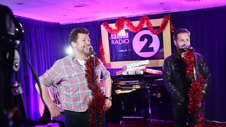 Michael Ball and Alfie Boe perform White Christmas
