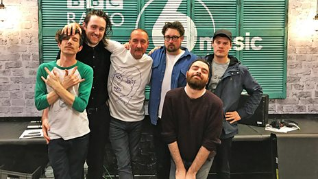 Hookworms live in session for Marc Riley