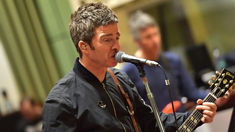 "Noel Gallagher performs the Oasis classic ""Half The World Away"""