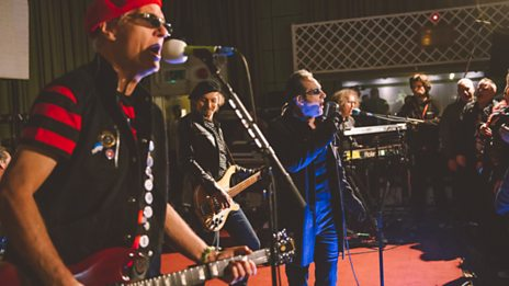The Damned live at Steve Lamacq's Christmas Punk Party