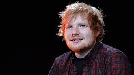 Ed Sheeran is No.1!