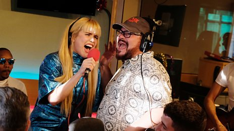 Paloma Faith and Jack Black perform All I Want for Christmas Is You