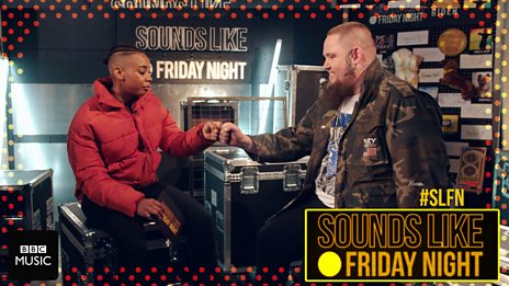 Dotty chats with Rag'n'Bone Man backstage at Sounds Like Friday Night