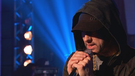 Radio 1 Live Music - Eminem, at Maida Vale