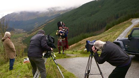 Behind The Scenes of a Scotdisc Shoot
