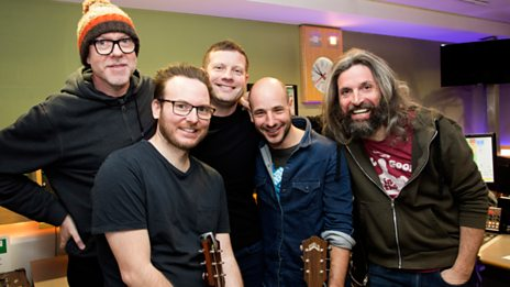 Turin Brakes live in Saturday Session