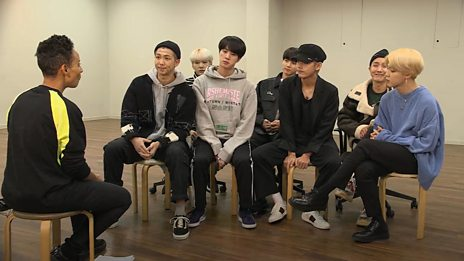 BTS Exclusive Interview #BTSonBBCR1