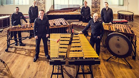 What do you get when you cross 2 vibraphones, 2 marimbas and a group of percussionists? This mesmeric sound...