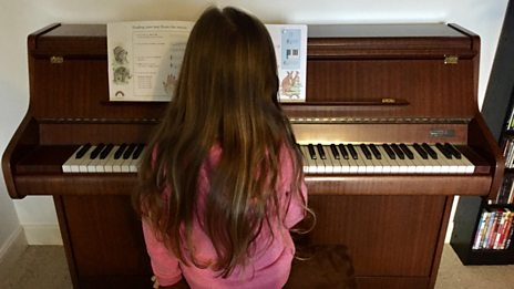 What happened to the girl who was saving up for a brand new piano?