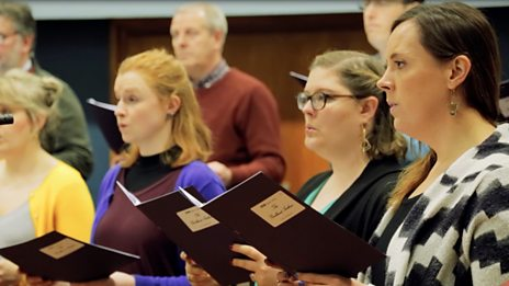Watch: The BBC Singers perform The Pankhurst Anthem
