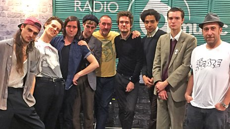 Insecure Men in session for Marc Riley