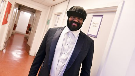 Gregory Porter brings a tear to your eye!