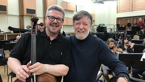 Conductor Sir Andrew Davis and cellist Paul Watkins introduce Finzi's Cello Concerto