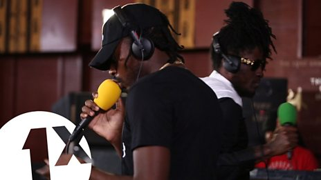 Aidonia & Govana - Breeze live for 1Xtra in Jamaica