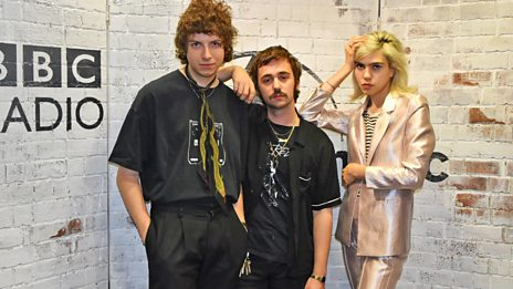Sunflower Bean in session