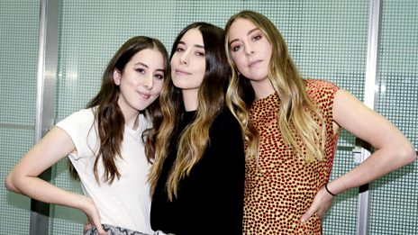 Haim join Grimmy for the #ThrowbackThursday Mix!