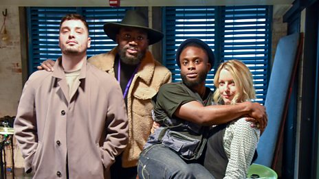 Young Fathers in Session