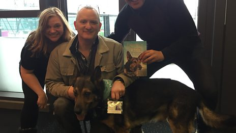 """Fabulous Finn the police dog saved my life"""