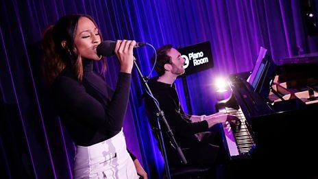 Alexandra Burke performs Hallelujah