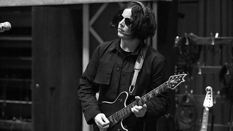 Jack White in session for Steve Lamacq