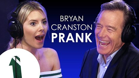Bryan Cranston pranks UK pop star Mollie King