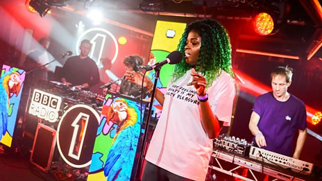 Radio 1 Live Music - Riton & Kah-Lo, in The Rave Lounge