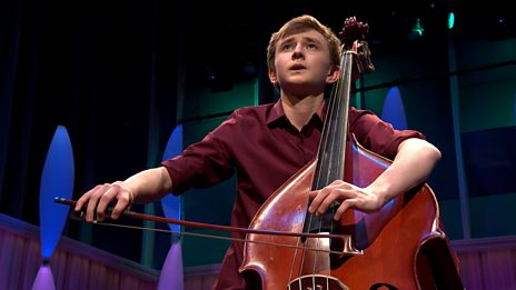 Will Duerden's performance in the BBC Young Musician 2018 Strings Final