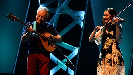 Dónal Lunny & Zoë Conway  - Tribute to Peadar O'Donnell (Radio 2 Folk Awards 2018)