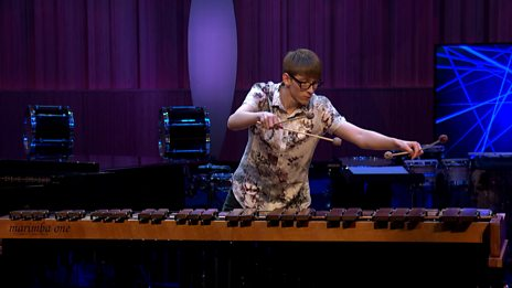 Tom Hall's performance in the BBC Young Musician 2018 Percussion Final