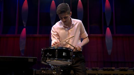 Alexander Pullen's performance in the BBC Young Musician 2018 Percussion Final