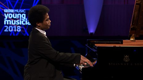 Adam Heron's performance in the BBC Young Musician 2018 Keyboard Final
