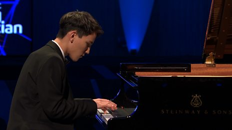 Elias Ackerley's performance in the BBC Young Musician 2018 Keyboard Final