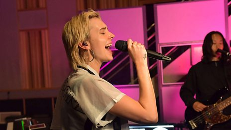 MØ in session at Maida Vale