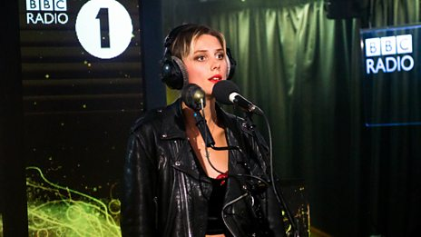 Wolf Alice give Camila Cabello the Live Lounge treatment