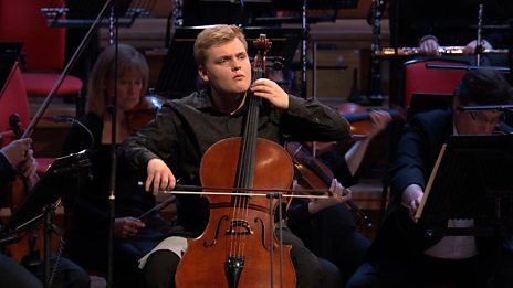 Maxim Calver performing Variations on a Rococo Theme in the BBC Young Musician 2018 Grand Final