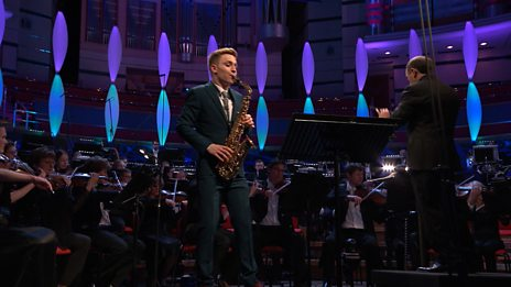 Robert Burton performing Concerto for Alto Saxophone op.26 in the BBC Young Musician 2018 Grand Final