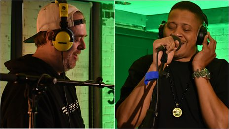 Watch Cut Chemist & Chali 2na perform a classic Jurassic 5 medley in the 6 Music Live Room