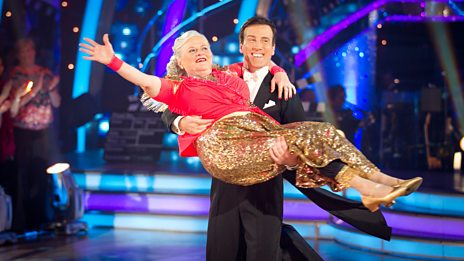How did dancing with Ann Widdecombe inspire Anton Du Beke's golf swing?!