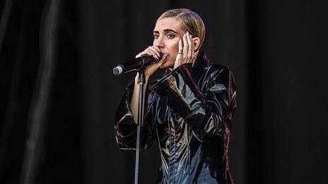 Lykke Li gets the crowd going with new song Deep End