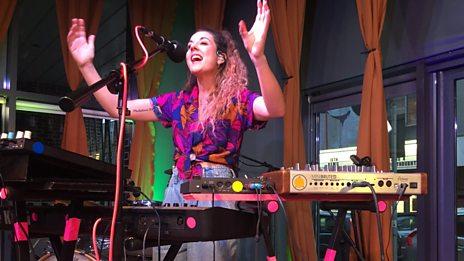 VIDEO: Rachel K Collier performs 'Dark Shade'