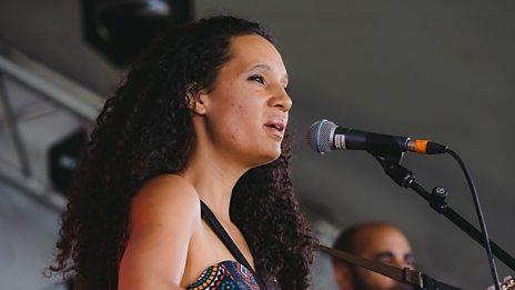 Namvula performs Zuba at Biggest Weekend