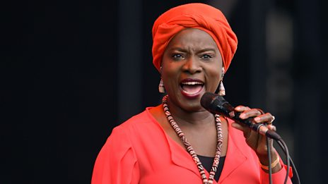Angélique Kidjo plays a captivating cover of Crosseyed and Painless by Talking Heads