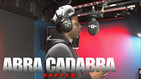 Fire In The Booth - Abra Cadabra