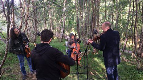 Live music from a Scottish Glen